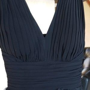 Aidan Mattox Dresses - Black Halter cocktail dress
